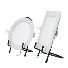 Dimmable 3w 40x40 square round slim cob led panel light