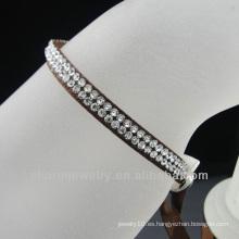 2013 brazaletes de la cinta de la joyería de traje con el rhinestone