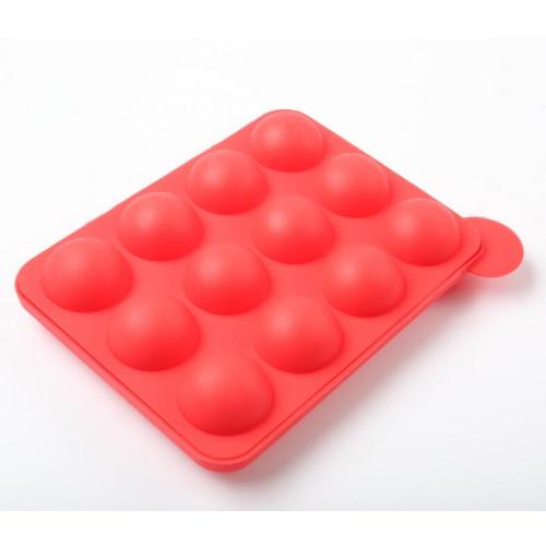 Party DIY Tool Pink Silicone Lollipop Mold