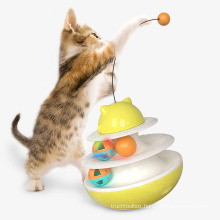 Shop new pet double-layer interactive rocking tumbler track cat turntable toy