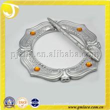 Clips de la cortina de la resina plateada accesorios del anillo de la cortina