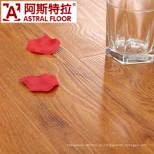 8mm водонепроницаемая поверхность натуральной древесины текстуры (U-Groove) ламинированные напольные покрытия (AS0002-4)