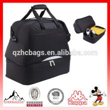 Alta Qualidade BSCI Fábrica Gym Bag Compartimento Ginásio Sacos