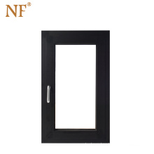 Aluminum Glass Tilt and Turn Casment Window with Mosquito Net Double Tempered Glass Aluminum Alloy Stainless Steel Customize NF