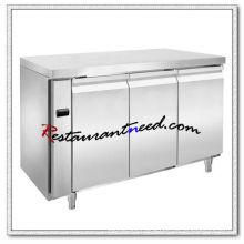 R307 3 Doors Luxurious Fancooling Undercounter Refrigerator/Freezer