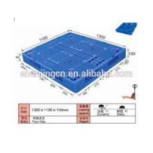 Palete de 1300 * 1100 * 150mm de plástico