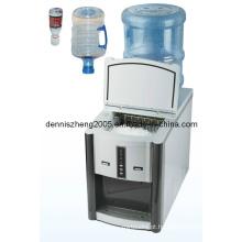 Máquina de gelo automática profissional 2 em 1 e dispensador de água