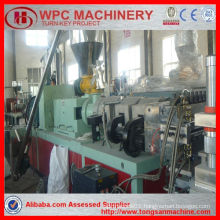 PVC profile extrusion line/wood crust buliding plate decoration car plate/pvc foam board machine