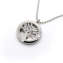 Нержавеющая сталь ювелирные изделия Эфирное масло диффузор Духи Ароматерапия Locket кулон ожерелье