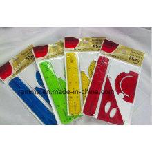 Clear PVC Flexible Ruler Soft Plastic Ruler