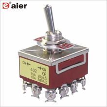 KN-402/403 12 Pins 20A 4 position toggle switch
