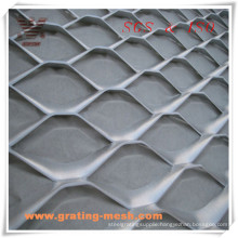 Decorative/Aluminum/ Expanded Metal/ Rhombic Shaped Expanded Mesh