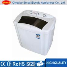 White CB Semi Automatic Washing Machine. Laundry Washing Machine