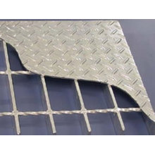 2014 Heißer Verkauf Normalstahl verzinktes zusammengesetztes Stahlineinander greifen-Gitter
