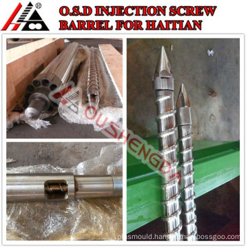 plastic cap and long nozzle for Haitian injection machine