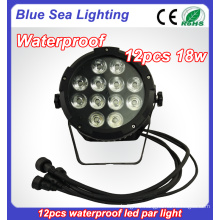 new2016 DMX 12x18w waterproof power par can light