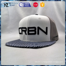 Вышивка дизайн кожа краев два цвета Snapback шапка
