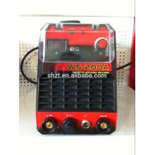 WS-200 Neue tragbare IGBT-Röhren-Wechselrichter DC-Tig / MMA-Schweißmaschine