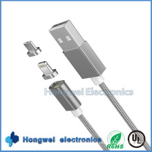 Universal Phone 2 in 1 Magnetic OTG USB Cable for Android and iPhone
