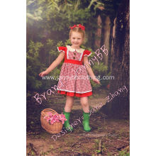 girls red gingham boutique remake dresses