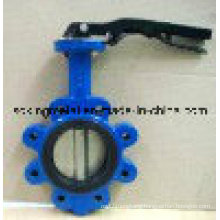 Epoxy Coated Cast Iron Lever Operated Butterfly Valve