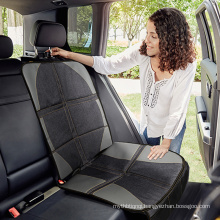 2020 Amazon hot selling grey leather high back foldable car seat protection mat