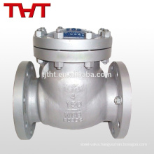 cf8m/stainless steel swing kits check valve fitting