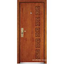 Steel Wooden Armored Door (YF-G9006)
