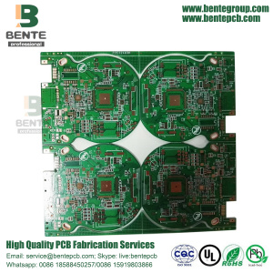 ENIG 3U 1oz Multilayer PCB FR4 Tg150 1oz