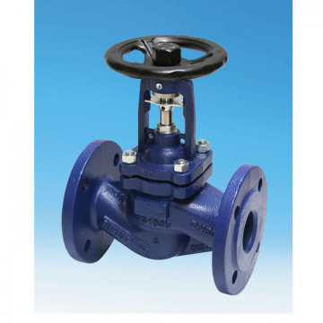 DIN Cast Steel Bellow Globe Valve