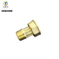 Custom Cast Brass copper pipe nipple fitting