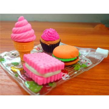 CUTE FOOD RUBBER ERASERS-0