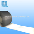Tecido reflexivo 100% poliéster prata ou fita