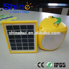 With emergency function ultra bright solar camping lantern inflatable solar camping light