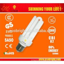 Nouveau! T3 4U CFL ampoule 15W 10000H CE qualité