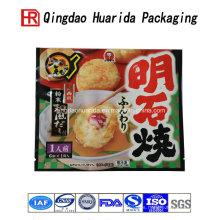 Personalice el empaquetado transparente de los bolsos de comida del plástico