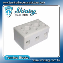 TC-503-A Thermocouple 600V 50A Connecteur de câble en porcelaine 3 broches