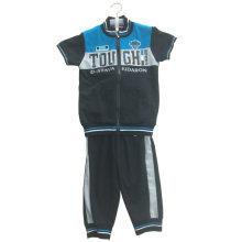 French Terry Boy Suit en Ropa de Niños para Niños Wear Apparel Ssb-102
