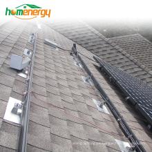 Sistema de montaje de paneles solares Sistema de montaje de plantas solares Sistema de montaje de techo con inclinación solar