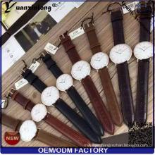 Yxl-659 2016 Men Fashion Custom Logo Watches Wholesale, Watch Genuine Leather, Watch Men Leather