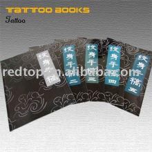 Tatouage maître de conception utilisé livre et image et flash