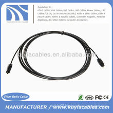 Optical Toslink 2.2mm OD Audio Cable 3m