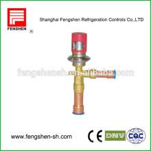 Valves de détente thermostatiques à pression constante Dépassement de gaz chaud