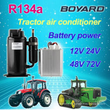 DC 48v солнечный кондиционер воздуха для автомобильного кондиционера электрический 12 вольт rv кондиционер
