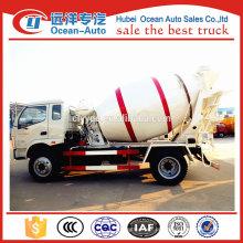 Foton pequeno 3 metros cúbicos de caminhão misturador de concreto para venda