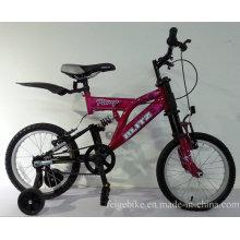 """Bicicleta de montaña completa de los niños de la suspensión MTB de 16 """"(FP-KDB-SM301)"""