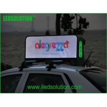 Exposição do táxi do diodo emissor de luz da exposição de diodo emissor de luz do táxi