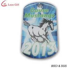 Etiquetas de perro de caballo por mayor impresión en Offset (LM1611)