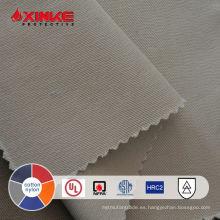Tejido flash ASTM F1959 ATPV 8.6 para soldadura de ropa de trabajo