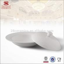 Meilleure vente de vaisselle en gros pour l'usine de porcelaine de bol de soupe de porcelaine de buffet